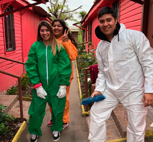 Global Days of Service: 1500 voluntarios AIEP realizan trabajo comunitario en todo Chile